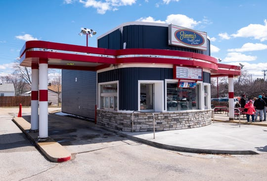 In preparation for the upcoming season, several improvements have been made at Jimmy's Frozen Custard, including new siding.