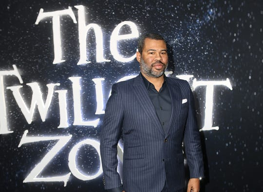 """Jordan Peele poses upon arrival for the premiere of """"The Twilight Zone"""" on March 26, 2019 in Hollywood, Calif. (Alexander Seyum/Zuma Press/TNS)"""