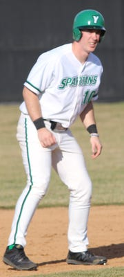 Dallastown High School graduate Brandon White has 22 RBIs in 16 games this season for York College.