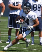 Nevada linebacker Lucas Weber was originally recruited out of McQueen as a running back.
