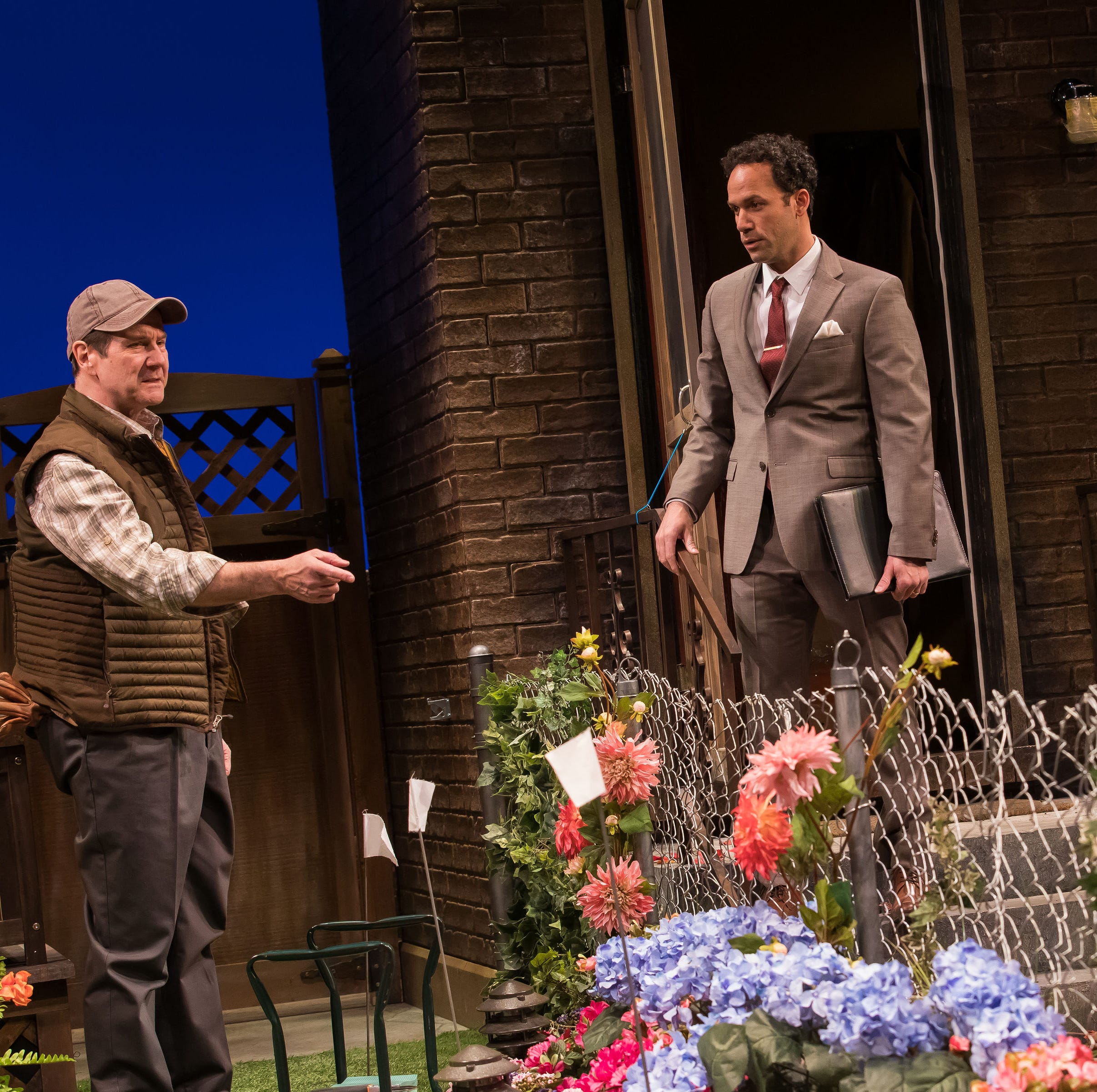Review: Geva's Native Gardens a funny play about a property feud but much more