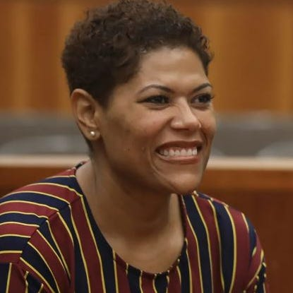 Leticia Astacio found not guilty of felony gun charge