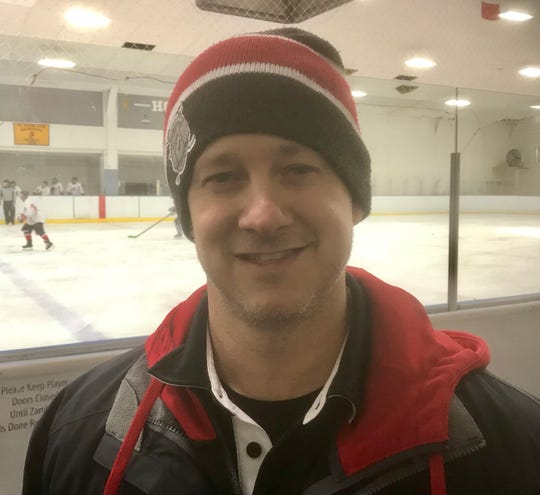 """United States Army captain Jim Rowley is now captain of the Rochester Americans Warriors hockey team. """"It's never going to be about one player, it's about the team,'' Rowley said, adding """"None of this happens without the Rochester Amerks Alumni.''"""