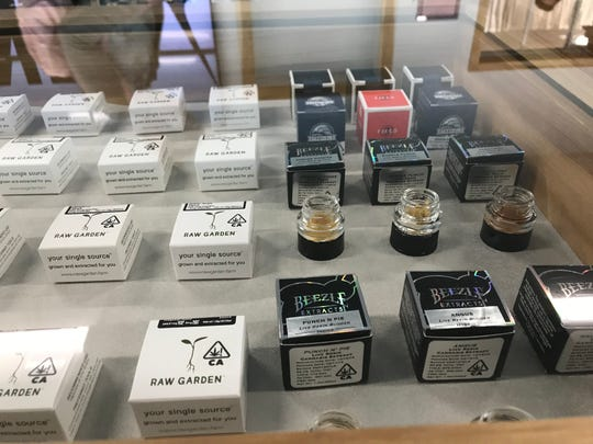 These cannabis products are sold at Sundial Collective, LLC. The store opened in March, making it the second licensed pot retailer in Redding.
