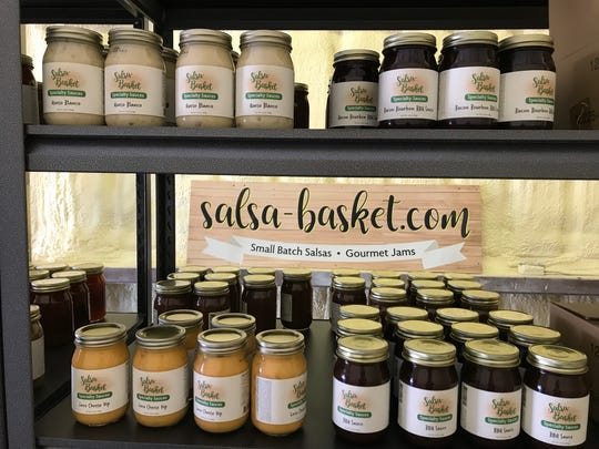 Salsa-Basket, 716 Knickerbocker Road, also sells queso and barbecue sauce.