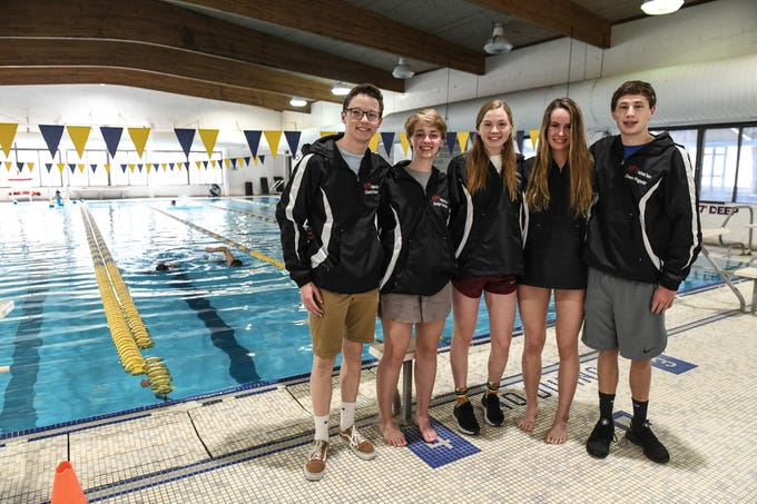 David Koval, Saige Oechsli, Cameron Horner, Maysen King and Owen Pogwist have qualified for the YMCA National Championships.