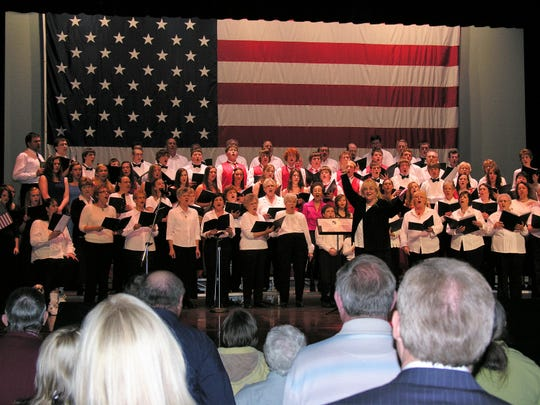 The choir performs at a previous Unity Music Festival.