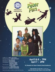 Seton presents Peter Pan JR. from April 5 to 7, 2019.
