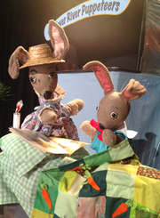 """The Fever River Puppeteers will perform """"The Tale of Bunny Cotton-Tail"""" on Sunday, April 7 at 2 p.m."""