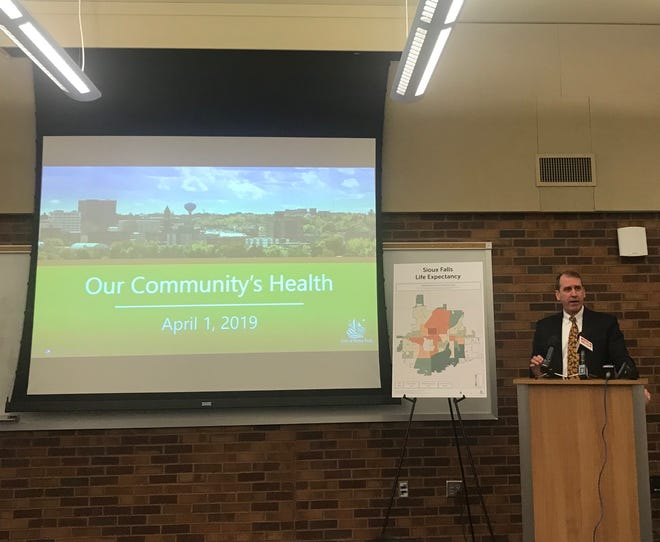 David Flicek, president and CEO of Avera McKennan Hospital and University Health Center, said during a news conference that Sioux Falls' Community Health Needs Assessment will aid health providers in tailoring care to the needs of Sioux Falls residents.