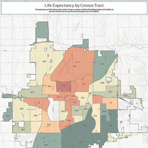 Report: Sioux Falls struggling with depression, chronic disease, geographic disparity