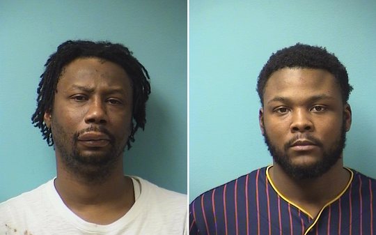 Left: Kenyatta Gaines, 39, of Sartell Right: Keshawn Charvontay Pernel Johnson, 23, of St. Cloud