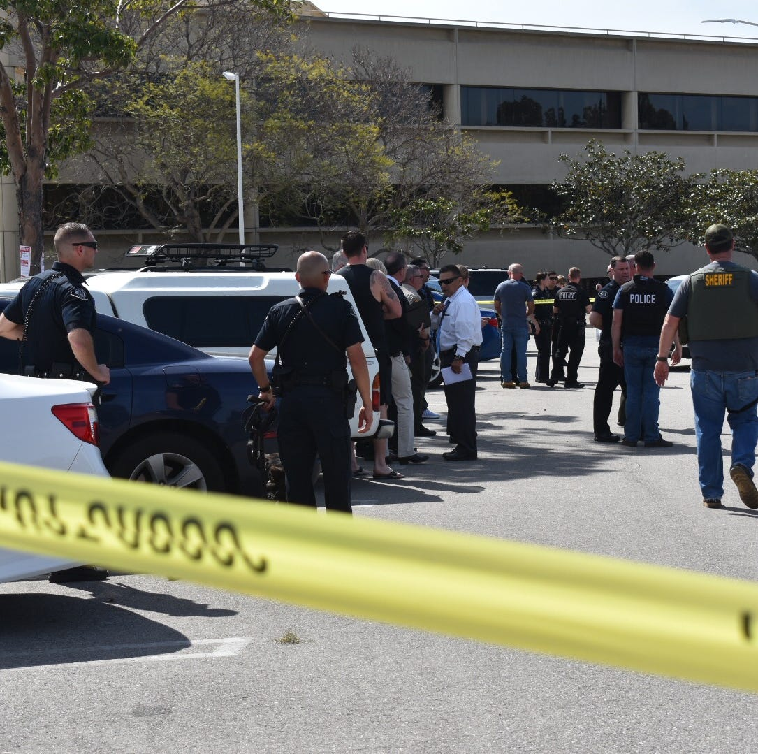 Ventura police sergeant, man injured in officer-involved shooting at government center lot
