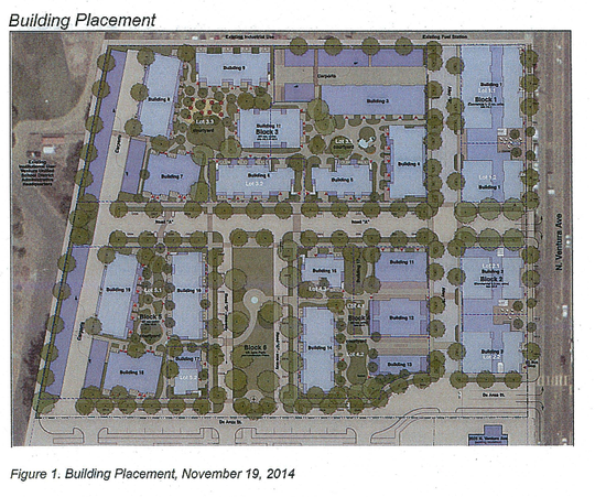 Plans approved in 2014 for 2055 N. Ventura Ave. in Ventura.