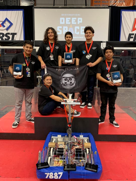 A team from Frontier High School in Camarillo exceeded even their own expectations when they earned a spot at a robotics competition in Houston later this month.