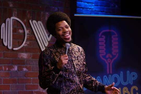 """Mike Winfield, winner of last year's """"StandUp NBC,"""" will perform at Levity Live in Oxnard in July as part of an auditions showcase in a five-city tour."""