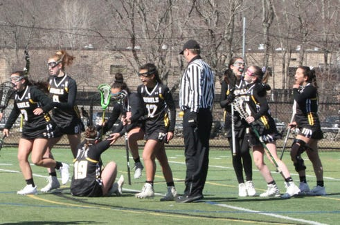 Lakeland-Panas celebrates overtime win over Brewster March 23, 2019