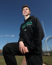 Ryan Guerci of Nanuet High School, Rockland boys winter track and field athlete of the year April 1, 2019.