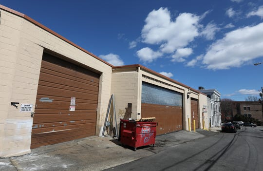 Plans to build The Vue at Nyack, at the site of this party warehouse company, are off the table April 1, 2019.