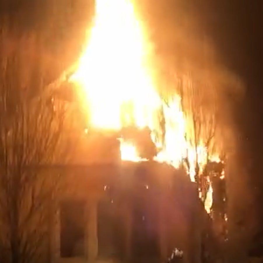 Fire tears through Montebello home