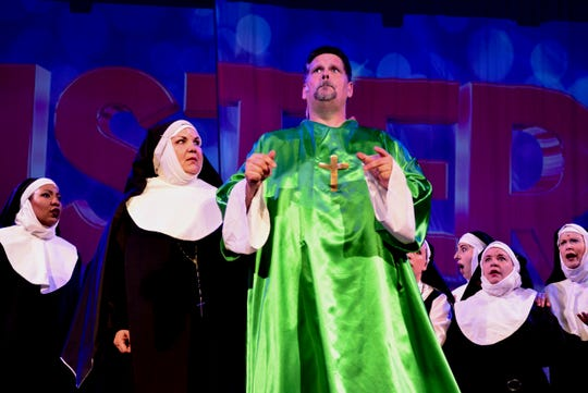 """""""Sister Act: The Musical"""" returns to the Wichita Theatre at 7:30 p.m. tonight and 2 p.m. and 7:30 p.m. Saturday for a 3 week run."""