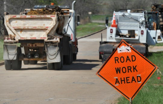 Work began Thursday, Nov. 14, on concrete and asphalt street repairs in Wichita Falls. Construction is in the area of Brook off Kell frontage road, through to Seymour Highway. Work is expected to take about a month.