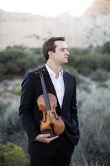Violinist William Hagen is the guest artist with the Wichita Falls Symphony Orchestra at 7:30 p.m. Saturday and 3 p.m. Sunday at Akin Auditorium in Midwestern State University.
