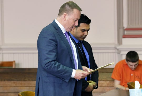 Rizwan Lahuti was sentenced in Muskingum County Common Pleas Court on Monday to 18 months in prison.