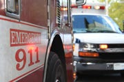 A fire at an apartment complex at 4180 Winchester, near Lamar Avenue, blazed in twelve units Sunday afternoon, sending one person to the hospital.