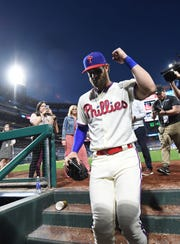 Phillie fans have embraced Bryce Harper in his first homestand in Philadelphia.