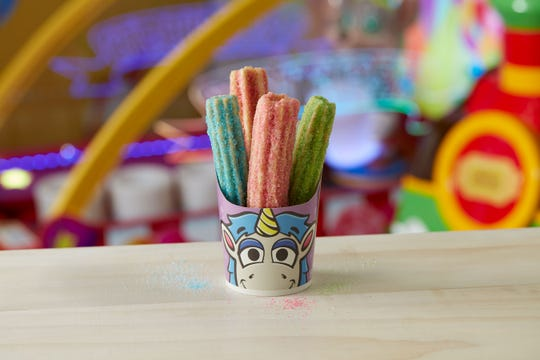 Chuck E. Cheese's will have special Unicorn Churros April 8 through June 6.