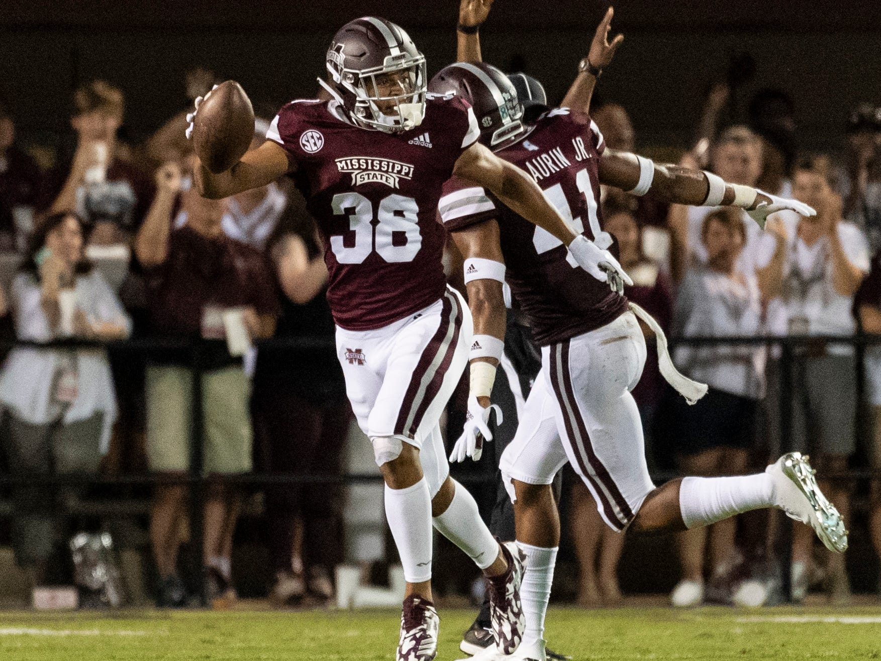 25. Eagles - Johnathan Abram, S, Mississippi State