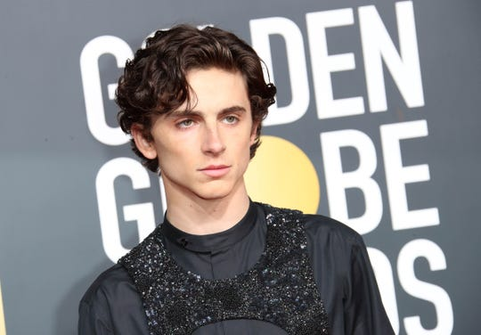 Oscar-nominated actor Timothee Chalamet told Henry Winkler he remembers him reading a Hank Zipzer book at a school assembly when he was 8.