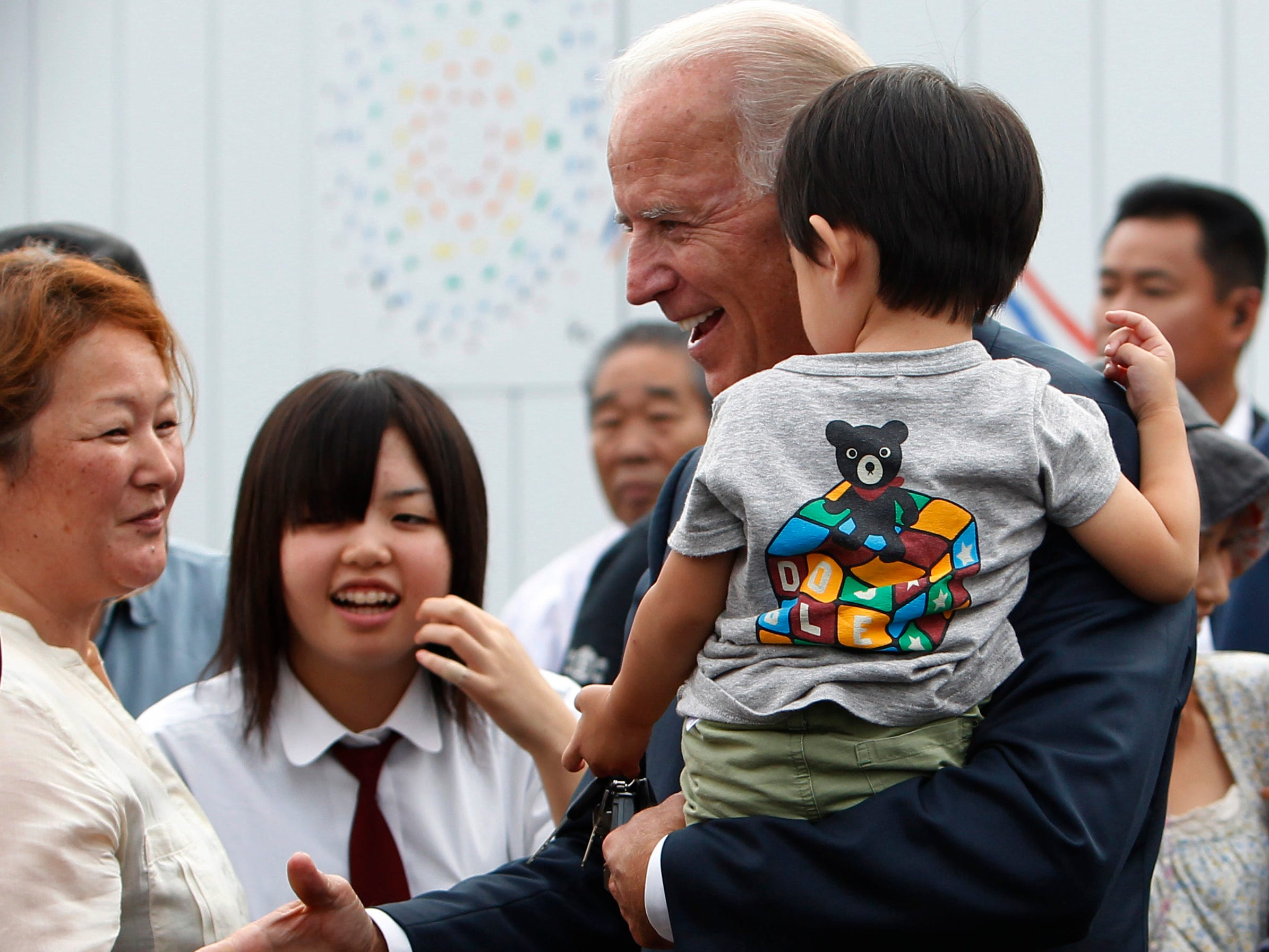 I was with Joe Biden when no one was looking, and he was always a champion for women
