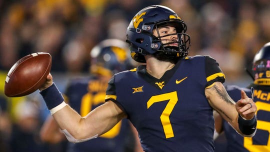 Will Grier is one of the more intriguing quarterback prospects in this year's draft.