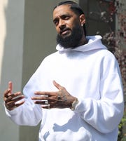 Nipsey Hussle was killed March 31.