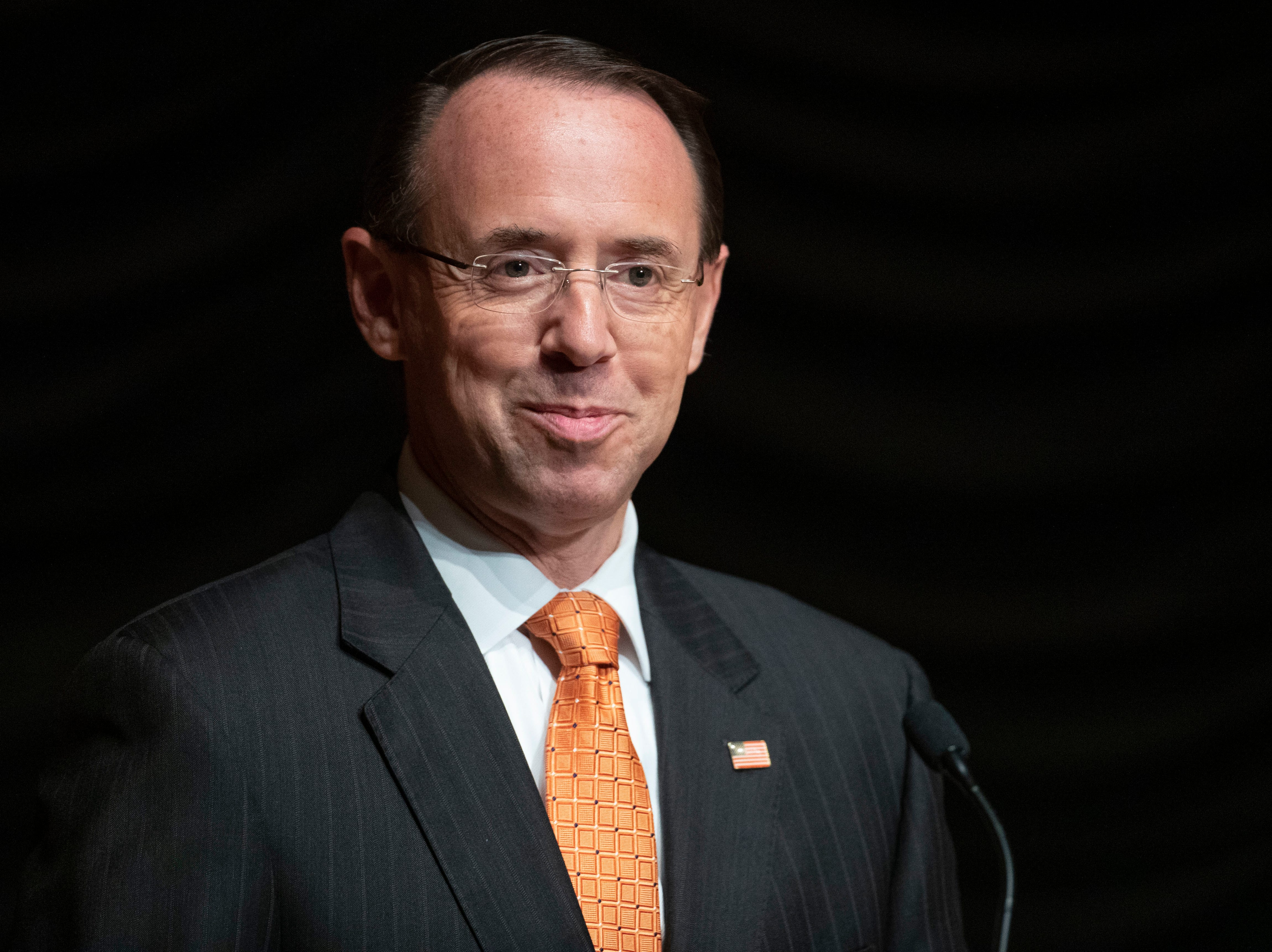 Deputy AG Rod Rosenstein offers staunch defense of Russia investigation, jabs Obama administration