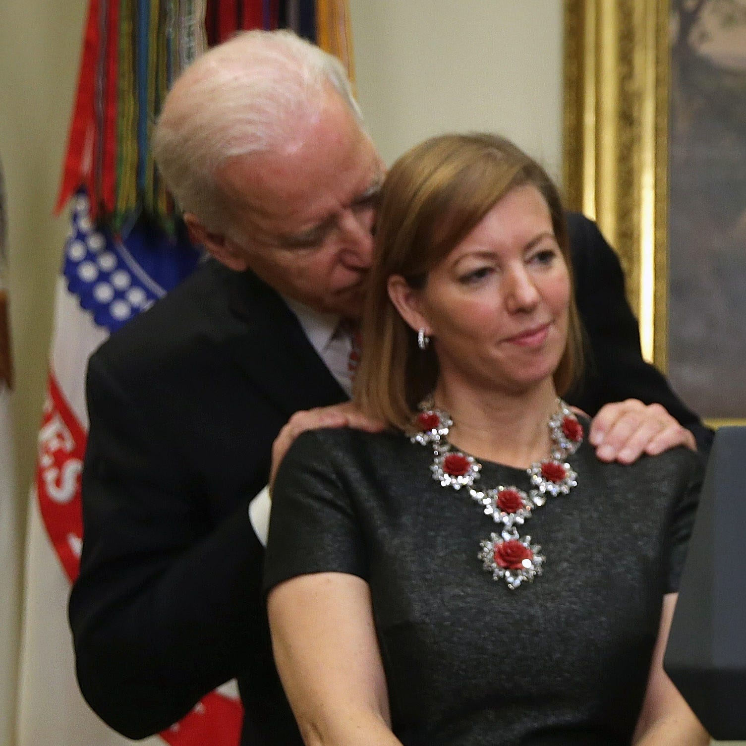 Wife of ex-Defense secretary defends Biden, says viral photo used 'misleadingly'