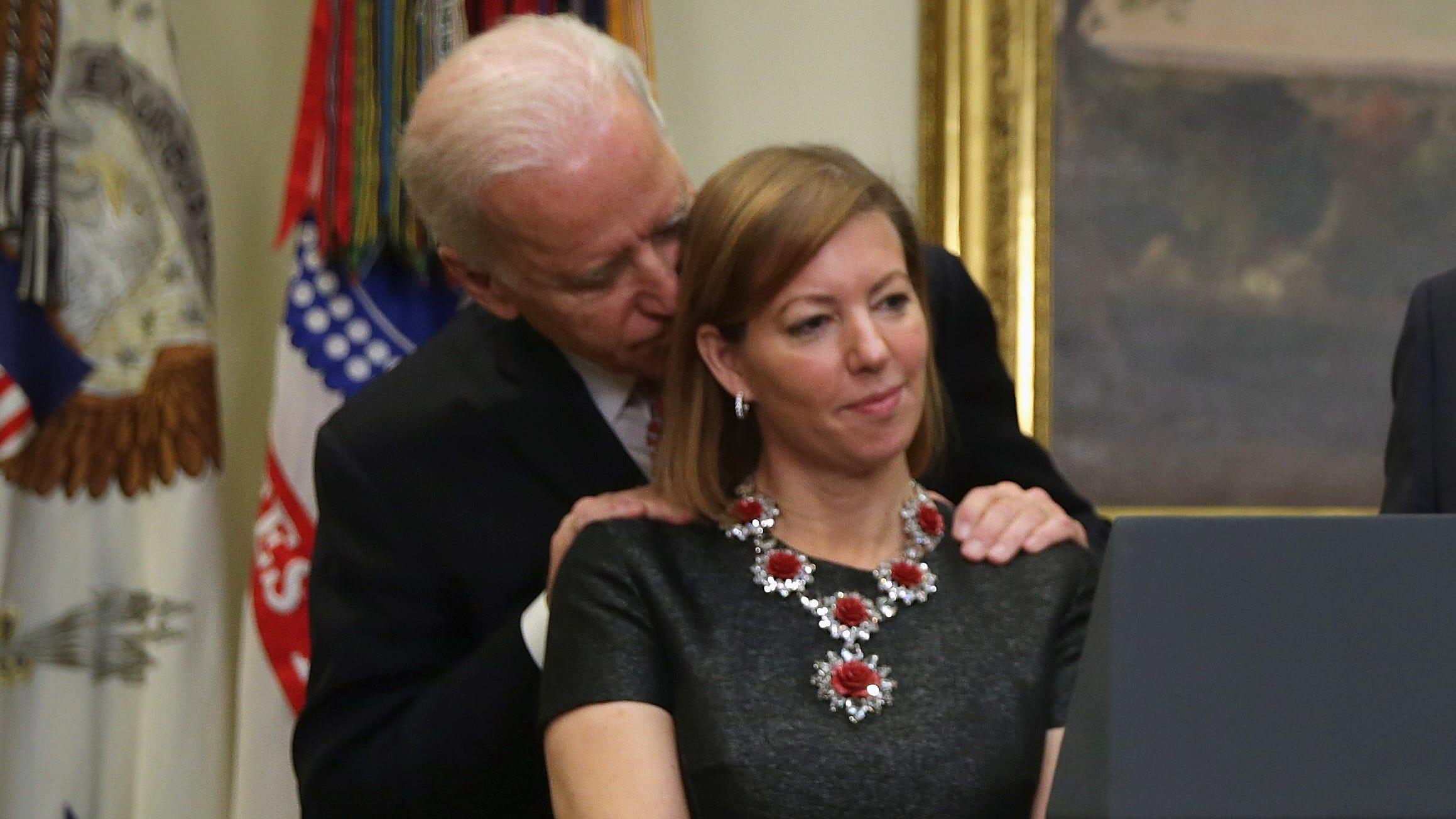 Joe Biden allegation: Stephanie Carter says viral photo is ...
