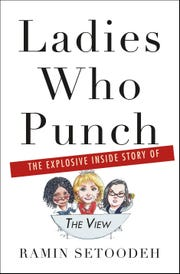 """The cover of """"Ladies Who Punch: The Explosive Inside Story of 'The View' """""""