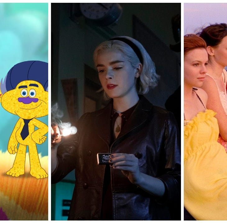 "Netflix features season 6 of ""Trolls: The Beat Goes On,"" part 2 of ""The Chilling Adventures of Sabrina"" and ""The Sisterhood of the Traveling Pants"" one and two."