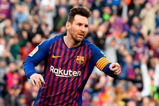 Lionel Messi has netted 31 goals and set-up 12 in 27 league games and has netted 16 goals in 12 Champions League games to help Barca reach the quarterfinals.
