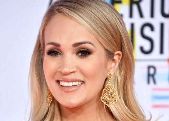 """Carrie Underwood's son mocked her with a school yard taunt by calling her """"Carefree Underwear."""""""