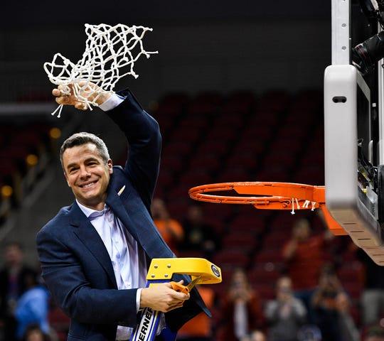 Virginia coach Tony Bennett.