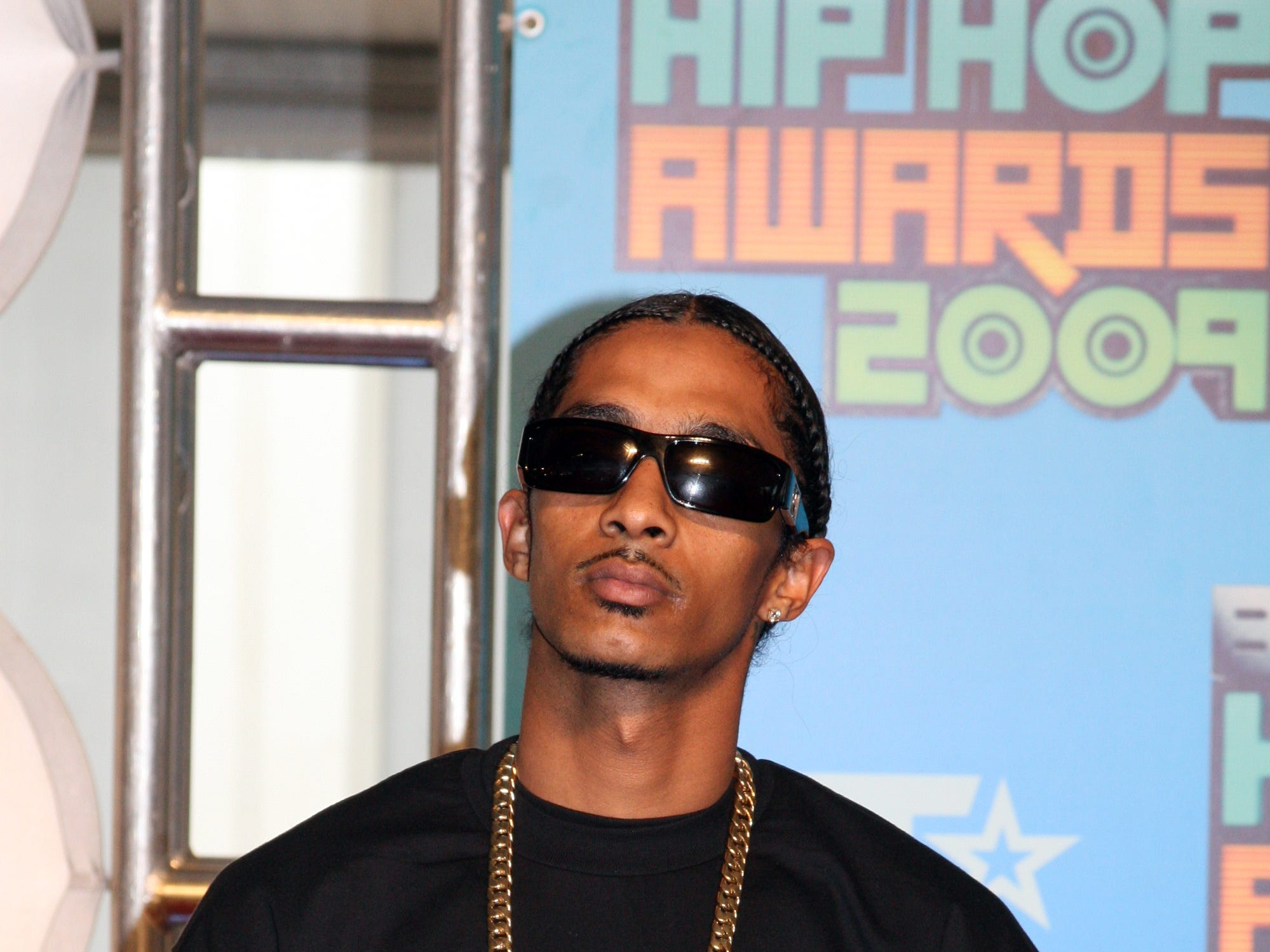 Nipsey Hussle attends the BET Hip Hop Awards '09 at the Boisfeuillet Jones Atlanta Civic Center on Oct. 10, 2009, in Atlanta.