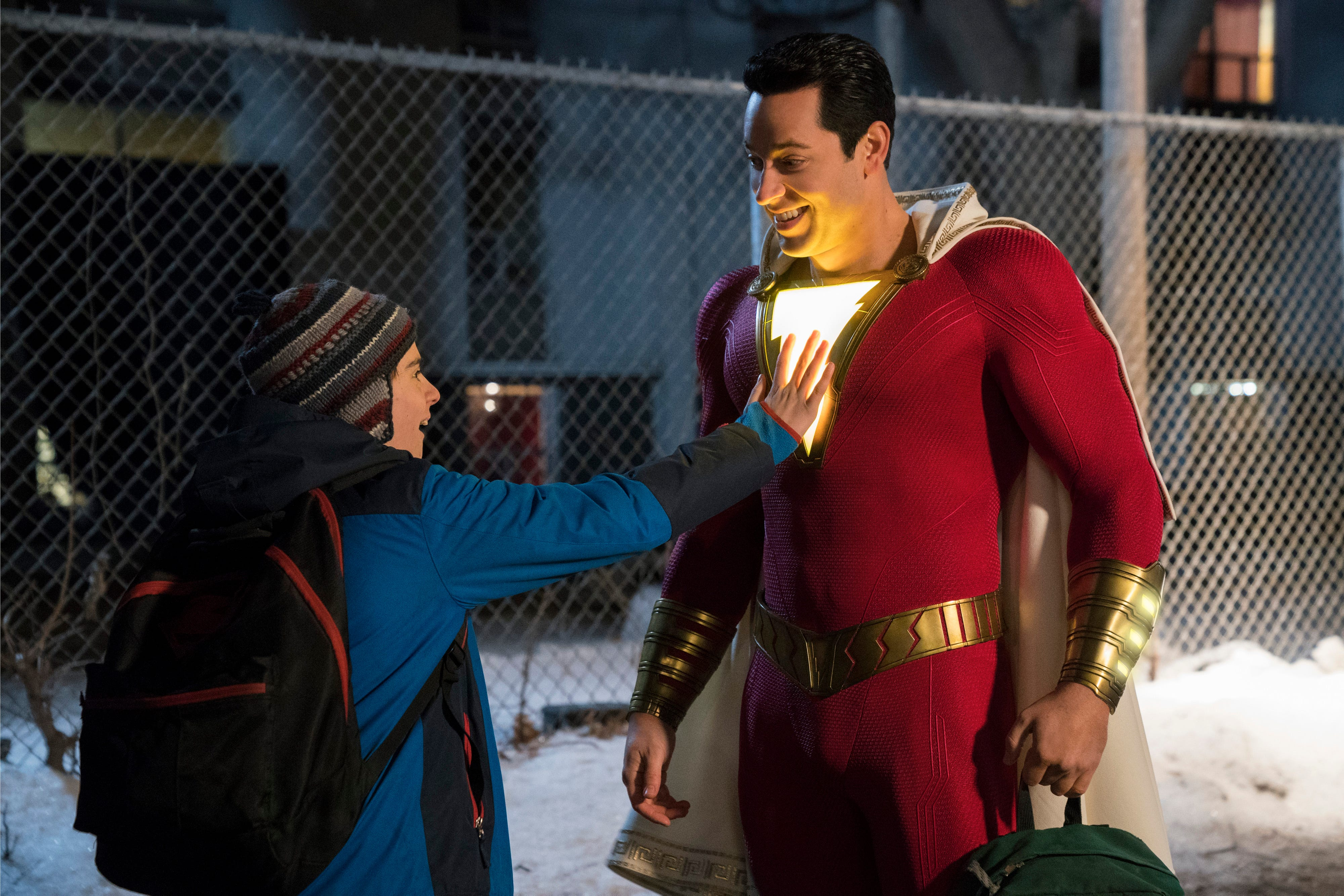 DC's 'Shazam!' thunders to No. 1 with $53.5M and great reviews