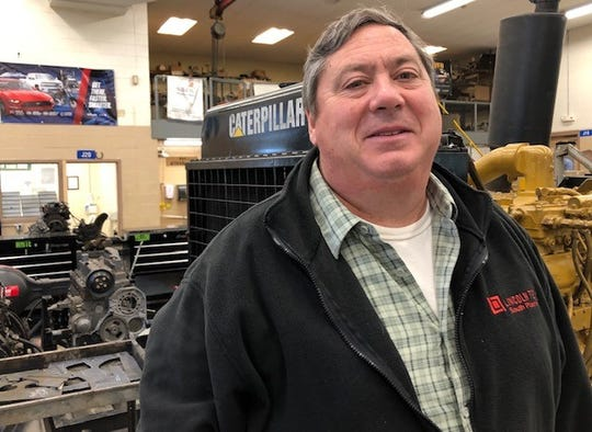 Greg Cullen, an instructor at Ocean County Vocational Technical School in Jackson, veered off the conventional path to find a fulfilling career.