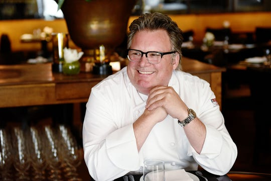Chef David Burke at his Sea Bright restaurant, DRIFTHOUSE by David Burke.