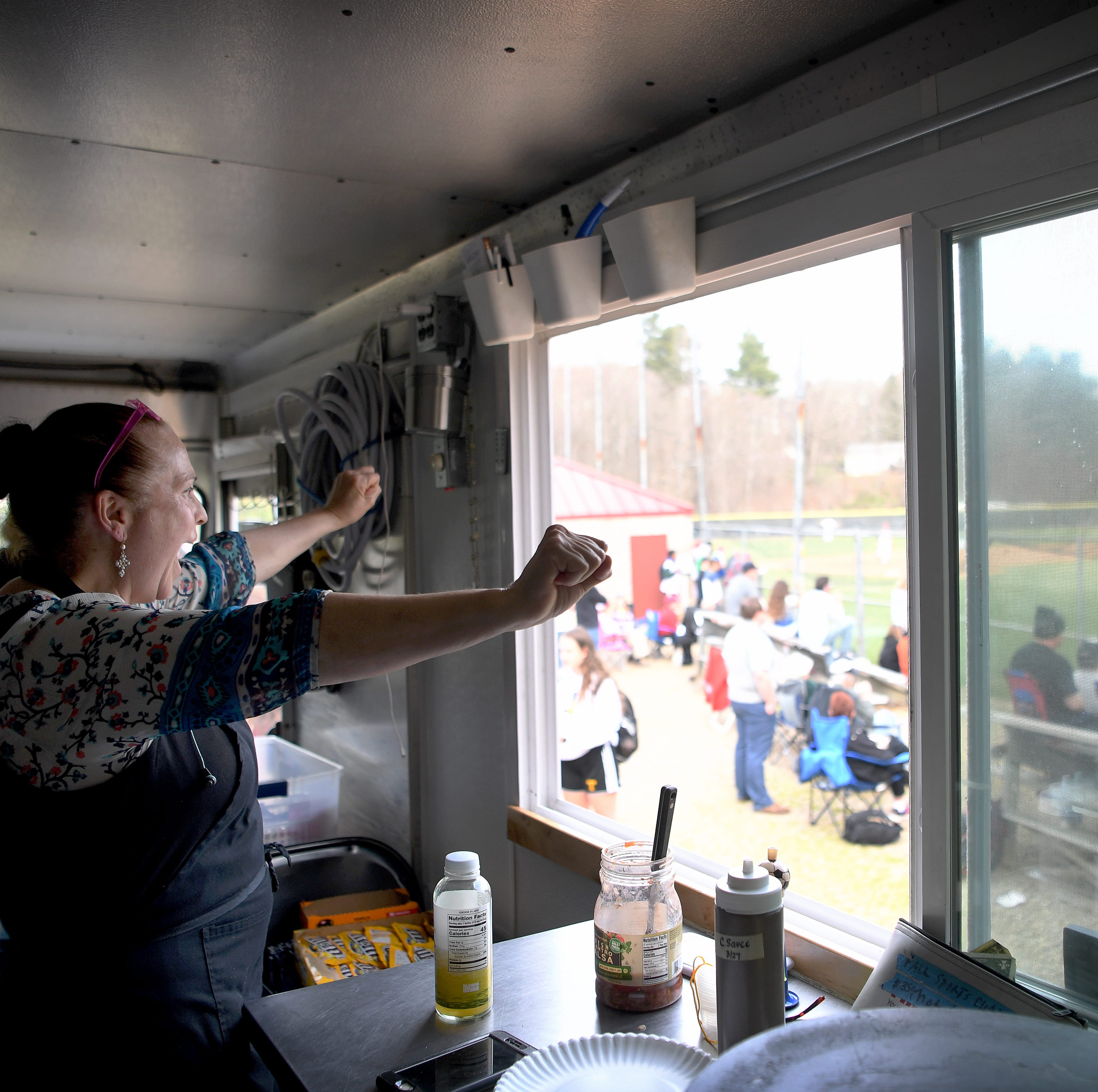 Cecilia's food truck adds flavor, excitement to Asheville High's baseball success