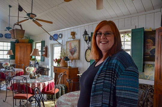 Southern Exposure Herb Farm, at 11269 N Drive North in Battle Creek, hosts workshops, weddings, overseas trips and more. Jennifer Hendrickson is one of the new owners.